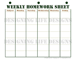 essay timetable planner printable homework log coffemix best images of printable homework log sheets printable