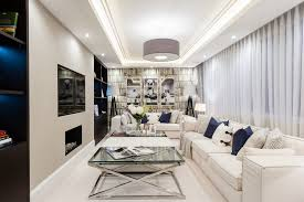 st johns wood penthouse example of a mid sized transitional living room design in london with charming living room fixtures