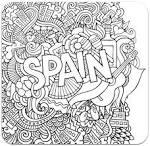 Раскраска испании