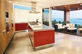 interiors kitchen modern interior wooden material