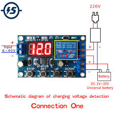 <b>DC</b> 6 40V Battery Charger Module Discharger Board Undervoltage ...