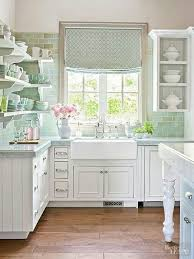 cottage kitchen ideas coastal cabinets clean and classic cozy cottage kitchen better homes and gardens