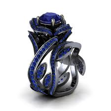 <b>Huitan</b> Vintage Wedding Anniversary Ring with Unique <b>Stone</b> ...