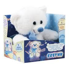 <b>Мягкая игрушка DREAM</b> MAKERS MFR01M Мишка-светик ...