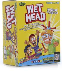 <b>Wet Head</b> Настольная игра <b>Водная</b> рулетка — купить в интернет ...