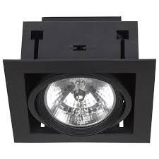 Встраиваемый <b>светильник Nowodvorski 6303 DOWNLIGHT</b> BLACK