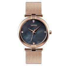 <b>SKMEI Luxury</b> Quartz <b>Fashion</b> Simple Stainless Steel <b>Women</b> Watches