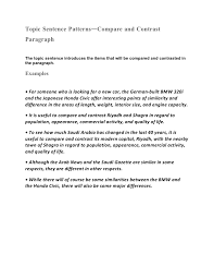 conclusion for compare and contrast essay examplecompare and contrast essay