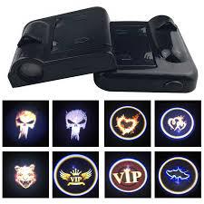 <b>1pcs Universal Car</b> Door Welcome Logo Projector Ghost Shadow ...