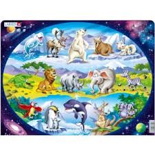 "Пазлы <b>Larsen Пазл</b> ""<b>Планета животных</b>"" | Отзывы покупателей"