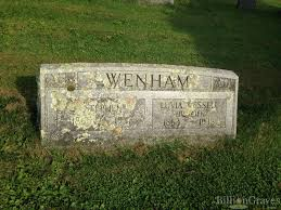 grave site of luvia wenham wessell billiongraves headstone image of luvia wenham wessell