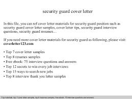 signals design cover letter  guard cover letter  security    security guard cover letter