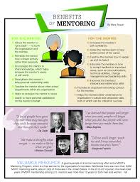 benefits of being a mentor or mentee infographic mentoring infographic