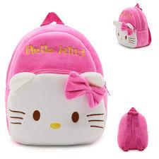 New children plush backpack cartoon bags kids baby <b>school bags</b> ...