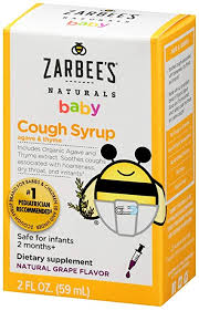 Zarbee's Naturals Baby Cough Syrup with Agave ... - Amazon.com