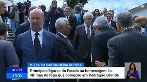 Homenagem a vítimas dos incêndios com missa em Castanheira de Pêra