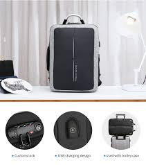 Mark Ryden <b>New Anti theft</b> USB Charging <b>Men</b> Backpack WITHOUT ...