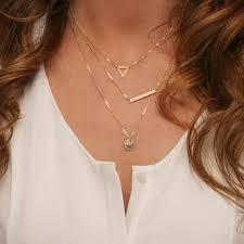 New Summer Jewelry <b>Fashion Multi Layer</b> Necklace Big Feather ...