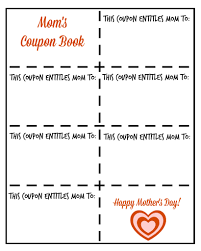 page 30 of 104 food family and all the rest food family and mother s day printable mom s coupon book blank mamamommymom