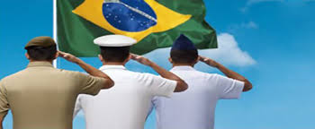 Resultado de imagem para brasil militares da Aeronáutica, Marinha e do Exército