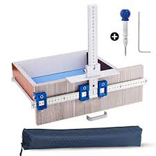 Quick-Set Cabinet Hardware Jig/<b>Punch Locator</b> Template for Easy ...