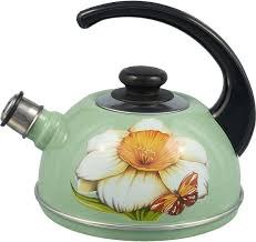 """<b>Чайник эмалированный</b> Рубин """"Нарцисс"""", <b>со свистком</b>, 2,5 л ..."""
