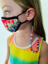 <b>Kids</b> Lanyards Face Mask <b>Holder</b> Beaded Lanyard <b>Childrens</b>   Etsy