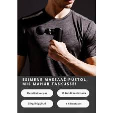 <b>BOOSTER Mini Electric</b> Muscle Massage Gun Pocket @ iFit