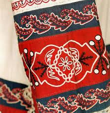 Декоративное решение <b>костюма в русском стиле</b> предметный ...