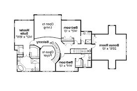 Colonial House Plans   Roxbury     Associated Designs    Colonial House Plan   Roxbury     nd Floor Plan