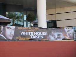 Cannes Movie Posters: WHITE HOUSE TAKEN (OLYMPUS HAS FALLEN),