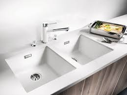 undermount kitchen sink stainless steel: photo  of  beautiful white undermount kitchen sink  kitchen sink top drop in stainless steel