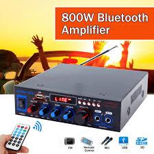 <b>HIFI 2CH 800W</b> Audio Power Amplifier 12/220V Home Theater ...