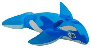 Купить <b>Надувная игрушка-наездник Intex</b> Касатка 58523 синий ...