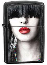 Купить <b>Зажигалка ZIPPO Red Lips</b> 28536 | Интернет магазин ...