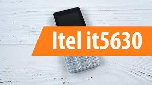 Распаковка <b>сотового телефона Itel</b> it5630/ Unboxing <b>Itel</b> it5630 ...