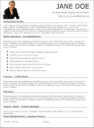 resume templates for casino careers enhanced resumepreview