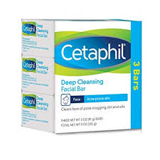 Cetaphil Deep Cleansing Facial Bar for Acne-Prone ... - Amazon.com