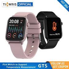 <b>TICWRIS GTS</b> Smart Watch With <b>Body</b> Temperature Waterproof ...