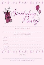 printable birthday invitations for girls drevio invitations design printable birthday invitations for girls