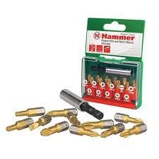 <b>Набор бит Hammer</b> PB set No2 Ph/Pz/Sl/Tx <b>203-902</b> 12 шт купить ...