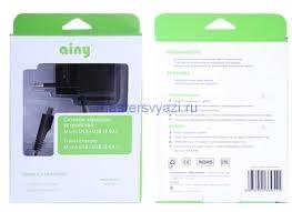 Сетевое <b>зарядное устройство Ainy</b> EA-032A Micro USB + USB ...