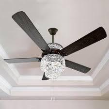 Spider <b>Crystal</b> Ceiling Fan 4814 Reverse Switch <b>Remote Control</b> in ...