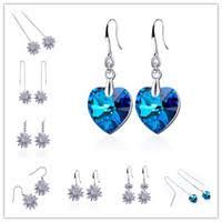 Sterling Silver Korean Style Earrings NZ | Buy New Sterling Silver ...