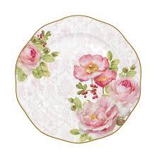 купить <b>Тарелка десертная FLORAL</b> DAMASK 20 см в интернет ...