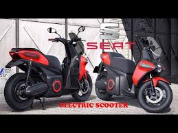 2020 new <b>SEAT</b> Mó eScooter125 <b>electric scooter</b> concept first ...
