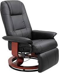 HOMCOM Adjustable Padded Recliner <b>Sofa</b> Leather <b>Relaxing</b> ...