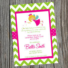printable fairy princess birthday party invitation printable fairy princess birthday party invitation customized colorful invitation 🔎zoom