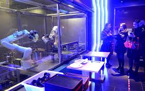 are we using poverty as an excuse for school failure get schooled shanghai customers take photos of the two robots cooking noodles in a restaurant