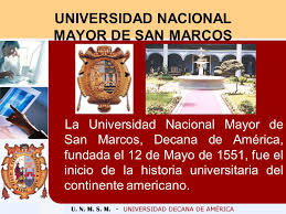 「1551 Universidad Nacional Mayor de San Marcos、UNMSM」の画像検索結果